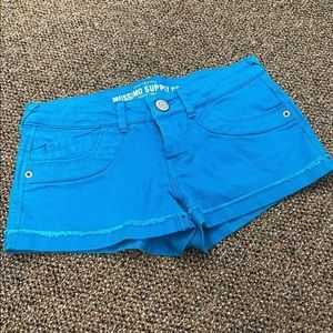 Mossimo Supply Co. Blue Target Shorts